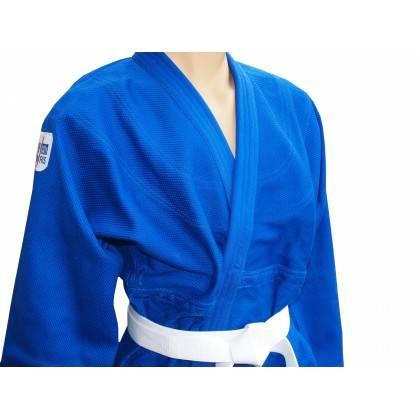 Kimono judo profesjonalne Sfjam-Noris White Tiger Excellence | 165cm | blue SFJAM NORIS - 3 | klubfitness.pl