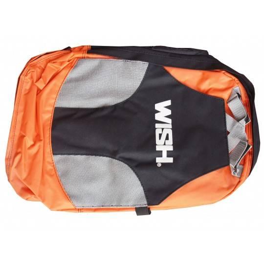 Plecak miejski WISH czarno pomarańczowy,producent: Wish, zdjecie photo: 1 | online shop klubfitness.pl | sprzęt sportowy sport e