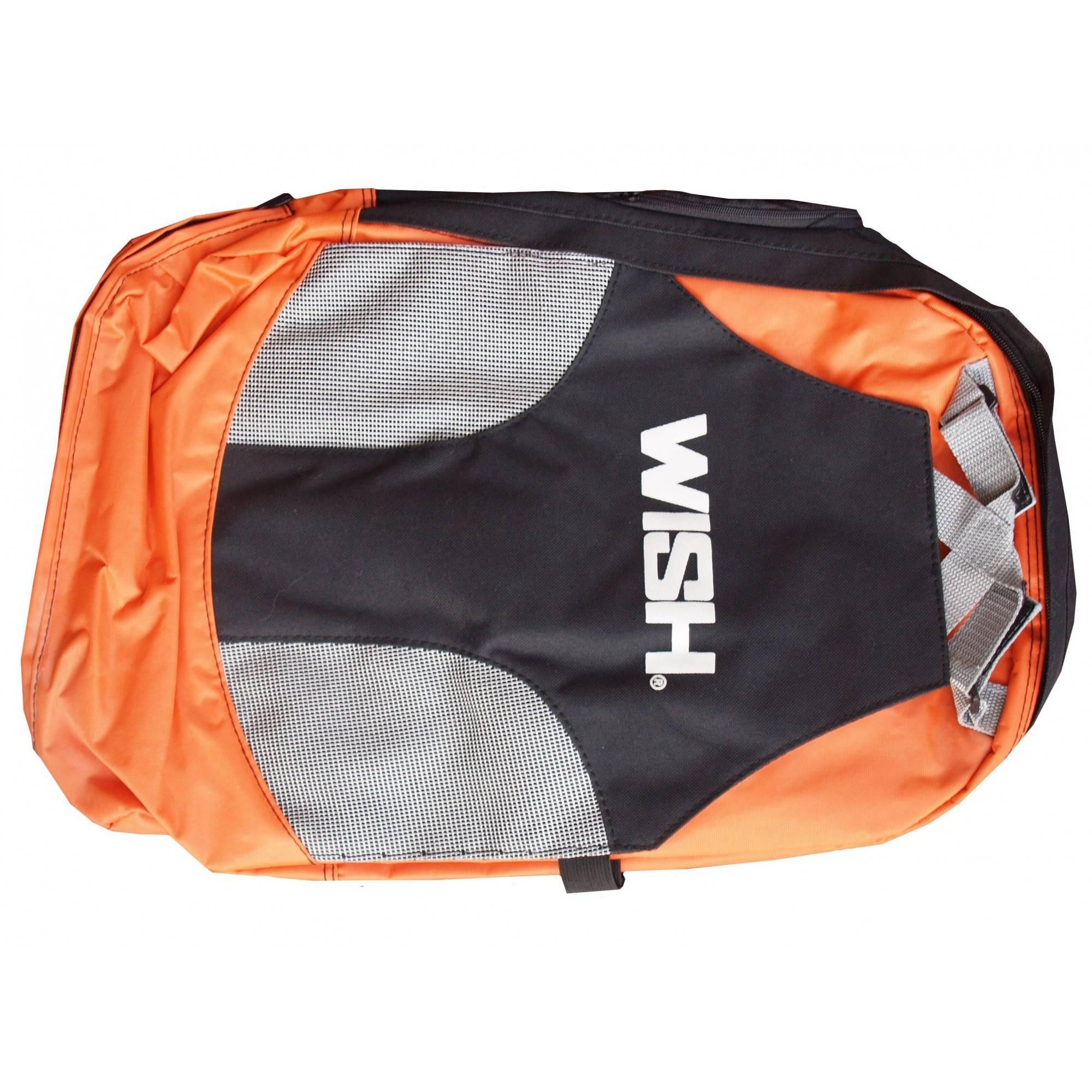 Plecak miejski WISH czarno pomarańczowy,producent: WISH, photo: 1