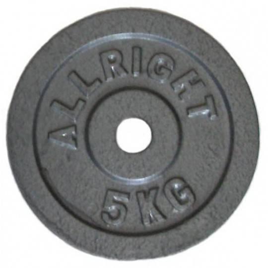 Obciążenie żeliwne hammertone Allright 5kg | 28mm,producent: ALLRIGHT, zdjecie photo: 1 | online shop klubfitness.pl | sprzęt sp