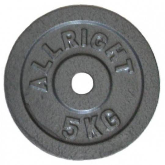 Obciążenie żeliwne 28 mm ALLRIGHT hammertone 5 kg, 15 kg,producent: ALLRIGHT, photo: 1