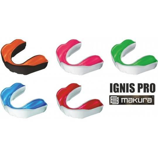 Ochraniacz szczęki pojedynczy Makura Ignis Pro   senior,producent: MAKURA, zdjecie photo: 1   online shop klubfitness.pl   sprzę