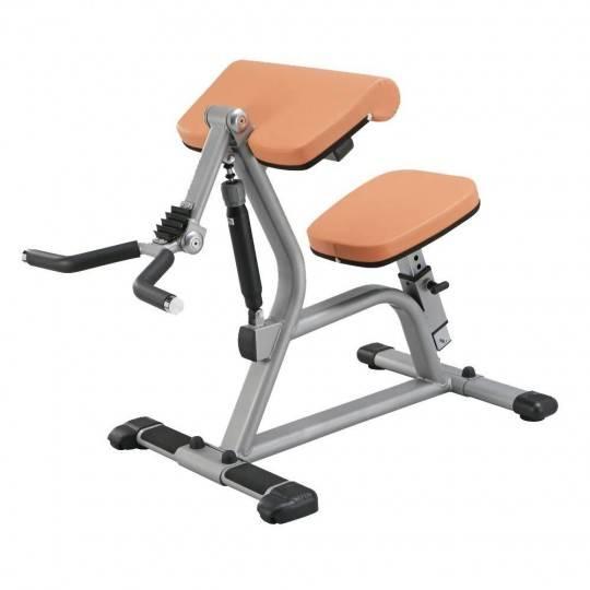 Trening obwodowy STEELFLEX CBC400 ORANGE mięśnie bicepsów STEELFLEX - 1 | klubfitness.pl