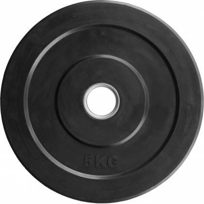 Obciążenie gumowane olimpijskie BUMPER STAYER SPORT czarne wagi od 5 kg do 25 kg,producent: Stayer Sport, zdjecie photo: 2   klu