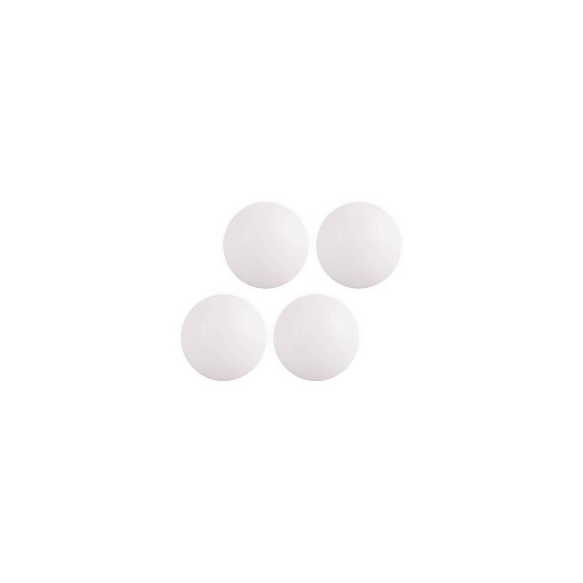 Piłeczki do gry w piłkarzyki średnica 32mm 4 sztuki białe WORKER - 1 | klubfitness.pl