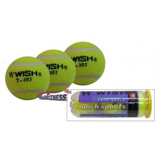 Piłka tenisowa WISH T-302 treningowa 3szt,producent: Wish, zdjecie photo: 1 | online shop klubfitness.pl | sprzęt sportowy sport