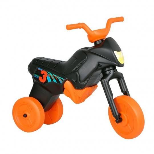 Motorek trójkołowy dla dzieci WORKER ENDURO MAXI czarny-pomarańczowy,producent: WORKER, photo: 1