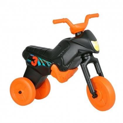 Motorek trójkołowy dla dzieci WORKER ENDURO MAXI czarny-pomarańczowy WORKER - 1 | klubfitness.pl
