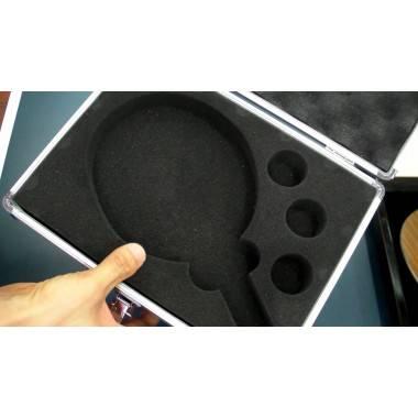 Pokrowiec na rakietkę i piłeczki aluminiowa kaseta walizka JOOLA ALU CASE,producent: JOOLA, photo: 5