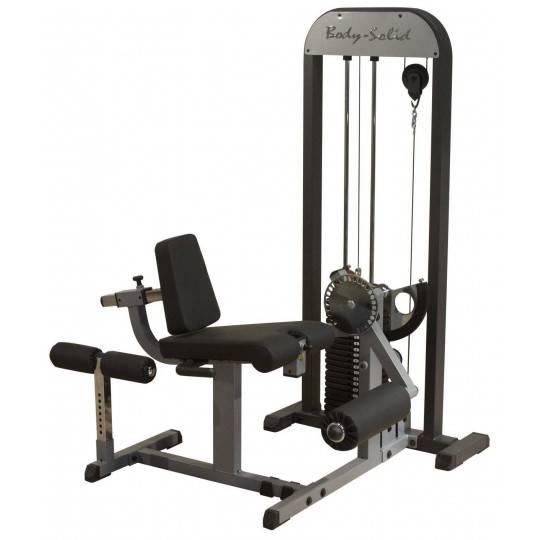 Maszyna ze stosem BODY-SOLID PRO GCEC-STK dwugłowe czterogłowe uda,producent: Body-Solid, zdjecie photo: 1   online shop klubfit