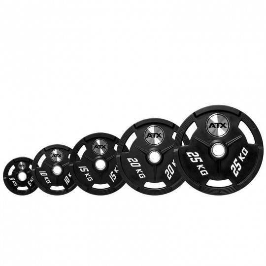 Obciążenie ATX® 50-PU uretanowe 50mm | waga 1.25kg ÷ 25kg ATX® - 1 | klubfitness.pl