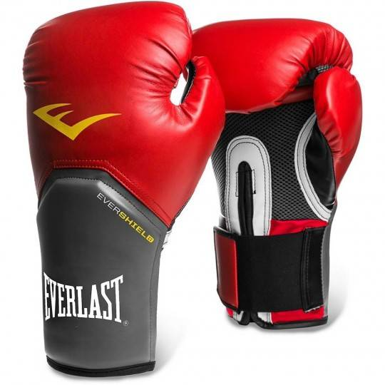 Rękawice bokserskie Everlast 6000-PU czerwone Everlast - 1 | klubfitness.pl | sprzęt sportowy sport equipment