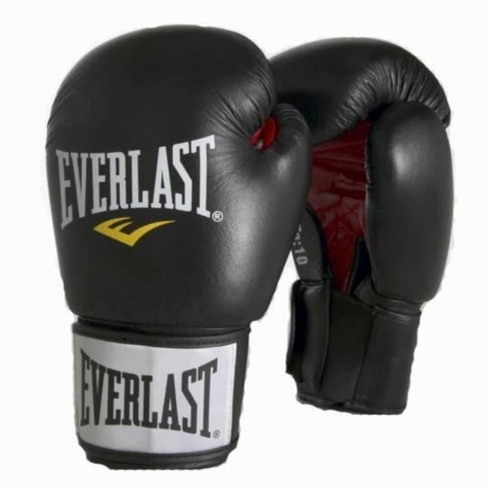 Rękawice bokserskie Everlast Ergo Foam 6000   czarne,producent: Everlast, zdjecie photo: 1   online shop klubfitness.pl   sprzęt