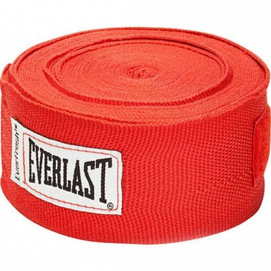 Bandaże bokserskie EVERLAST PRO STYLE czerwone,producent: Everlast, zdjecie photo: 1 | online shop klubfitness.pl | sprzęt sport