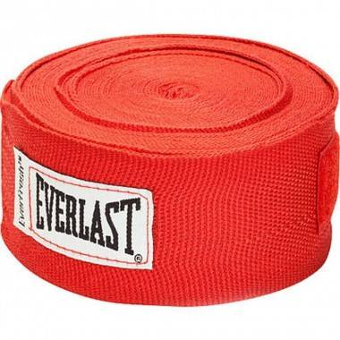 Bandaże bokserskie EVERLAST PRO STYLE czerwone,producent: EVERLAST, photo: 1