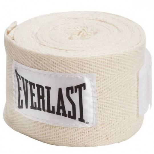 Bandaże bokserskie EVERLAST PRO STYLE białe,producent: Everlast, zdjecie photo: 1   online shop klubfitness.pl   sprzęt sportowy