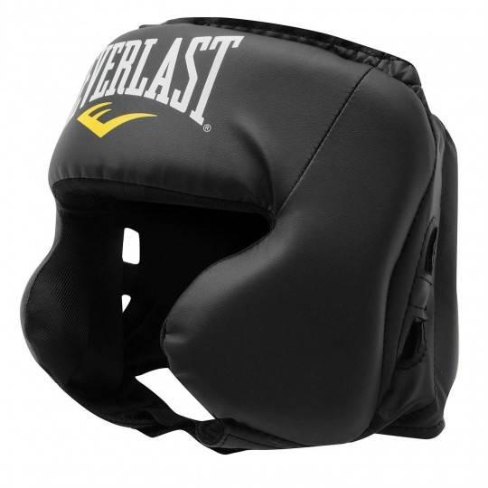 Kask bokserski Everlast Everfresh sparingowy | skóra PU Everlast - 1 | klubfitness.pl