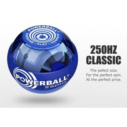 Kula żyroskopowa POWERBALL 250 Hz CLASSIC trenażer nadgarstka niebieski,producent: POWERBALL, photo: 1