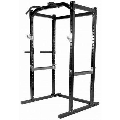 Klatka treningowa Powertec WB-PR15 Black | power rack | podpory drążek,producent: Powertec, zdjecie photo: 1 | online shop klubf
