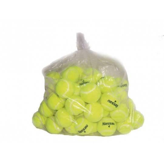 Piłki do tenisa ziemnego NASSAU TRAINER 60 szt w worku,producent: NASSAU, photo: 1