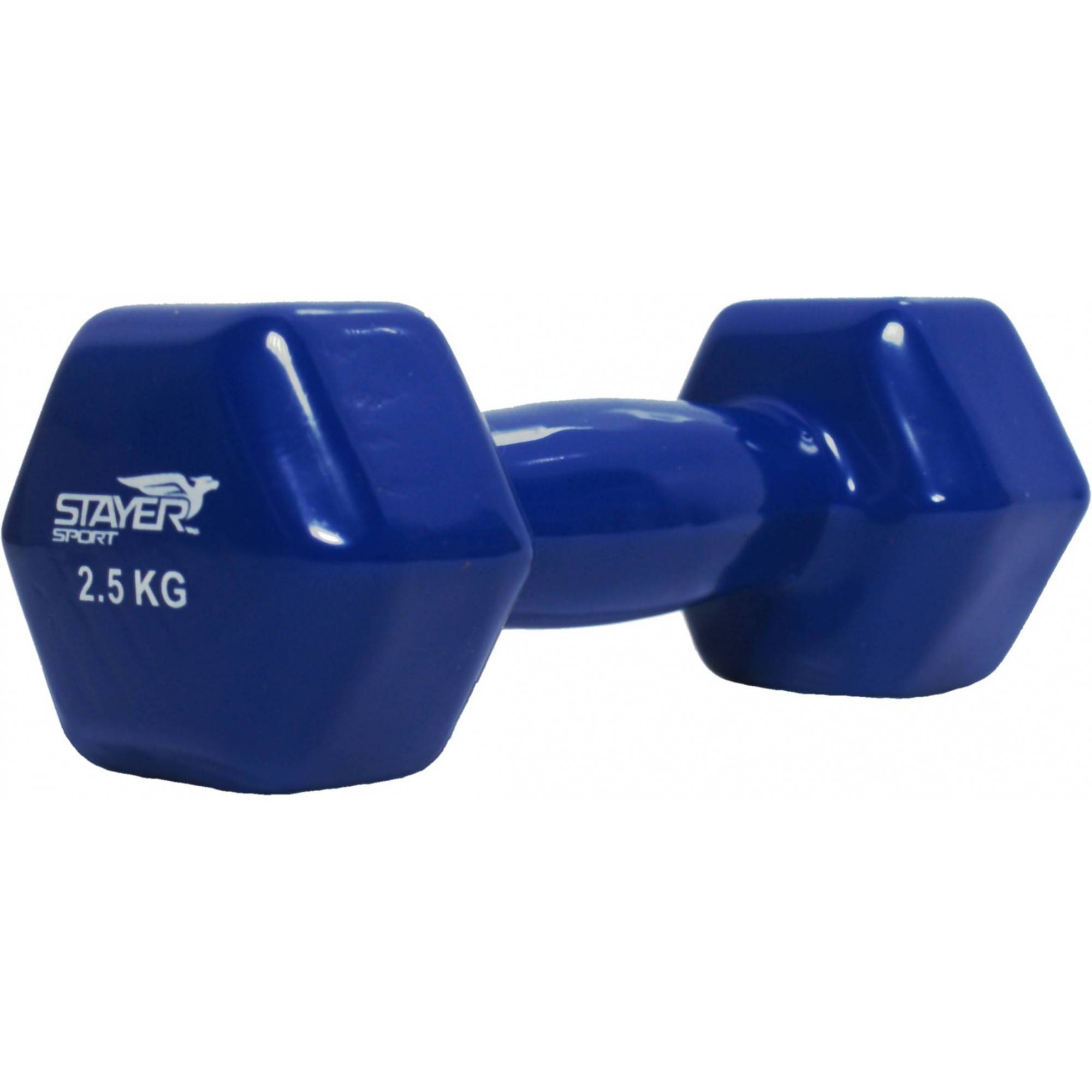 Hantla fitness winylowa Stayer Sport Hex | 2,5kg,producent: Stayer Sport, zdjecie photo: 1 | online shop klubfitness.pl | sprzęt