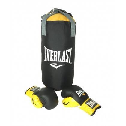 Worek bokserski z rękawicami Everlast JS001 | dla dzieci,producent: Everlast, zdjecie photo: 2 | online shop klubfitness.pl | sp