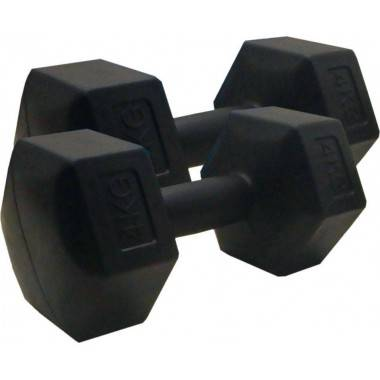 Hantla fitness cementowa 4kg HEX STAYER SPORT hantelka bitumiczna,producent: STAYER SPORT, photo: 2