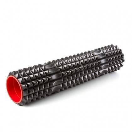 Roller walec 3 częściowy z wypustkami do masażu ProRoll 60cm / 2x 30cm PROROLL - 1   klubfitness.pl