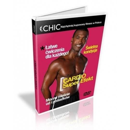 Ćwiczenia instruktażowe DVD Cardio Super Efekt,producent: MayFly, zdjecie photo: 1 | klubfitness.pl | sprzęt sportowy sport equi