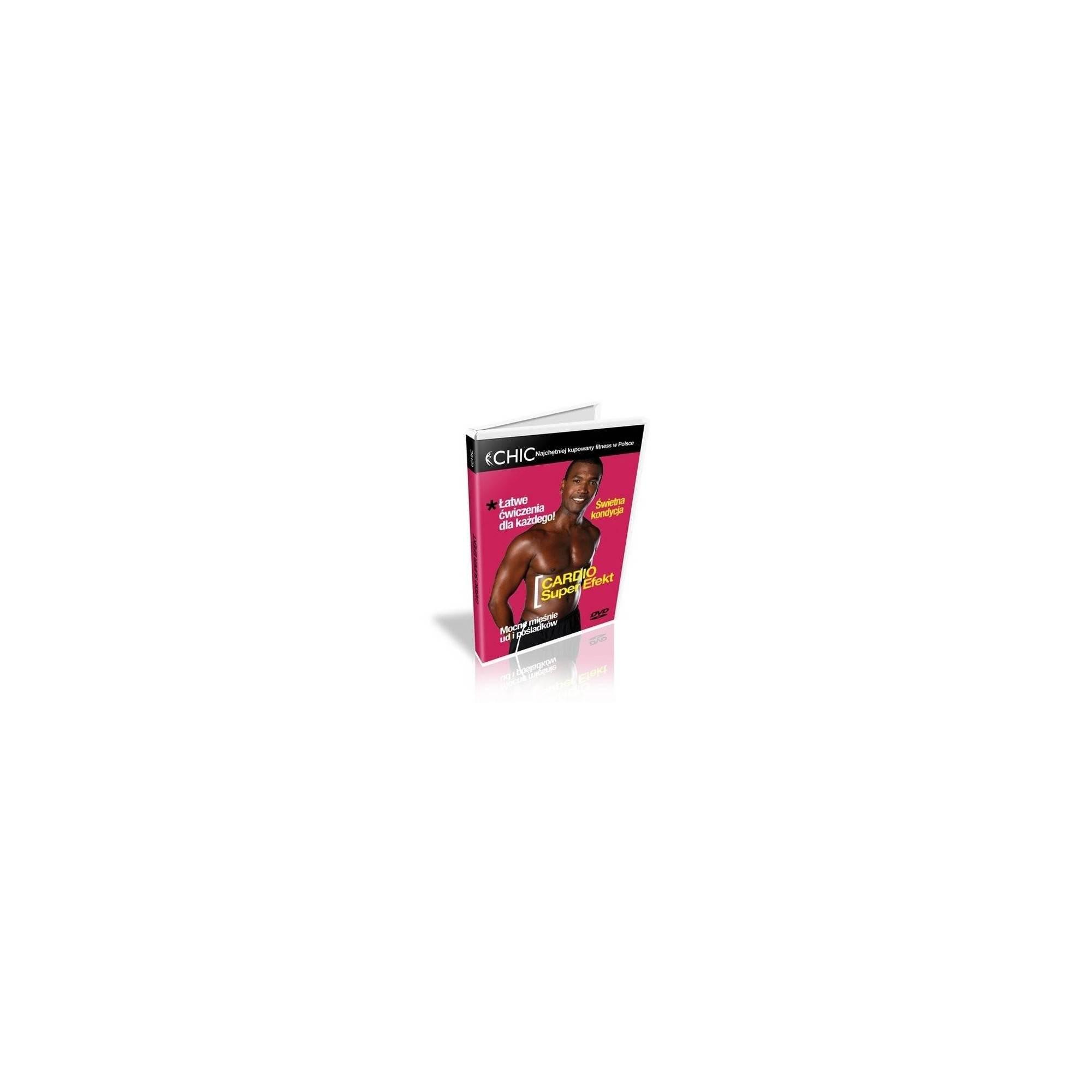 Ćwiczenia instruktażowe DVD Cardio Super Efekt,producent: MayFly, photo: 1