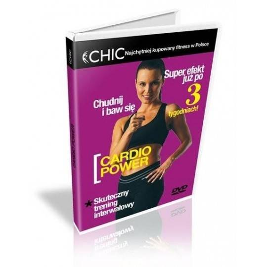 Ćwiczenia instruktażowe DVD Cardio Power MayFly - 1 | klubfitness.pl