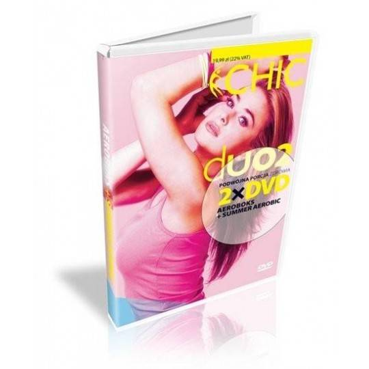 Ćwiczenia instruktażowe DVD DUO Aeroboks + Summer Aerobic,producent: MayFly, photo: 1