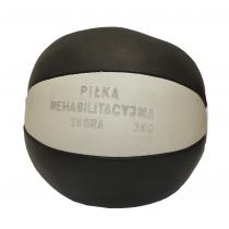Piłka lekarska 3 kg STAYER SPORT skóra naturalna,producent: Stayer Sport, zdjecie photo: 2 | klubfitness.pl | sprzęt sportowy sp