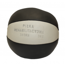 Piłka lekarska 3 kg STAYER SPORT skóra naturalna,producent: Stayer Sport, zdjecie photo: 2 | online shop klubfitness.pl | sprzęt