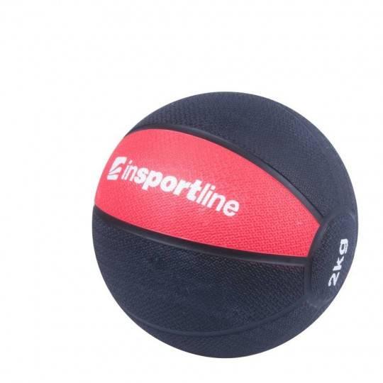 Piłka lekarska gumowa INSPORTLINE wagi od 2 do 6 kg,producent: INSPORTLINE, photo: 1