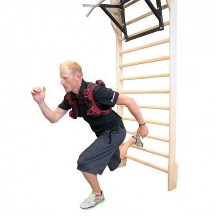 Drabinka gimnastyczna 245 x 90 cm INSPORTLINE drewniana,producent: INSPORTLINE, photo: 3