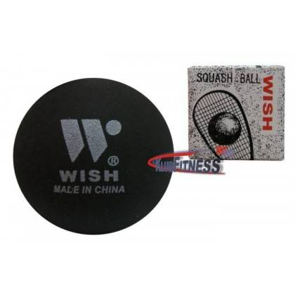 Piłka do squash WISH czarna średnica 40 mm,producent: WISH, photo: 1