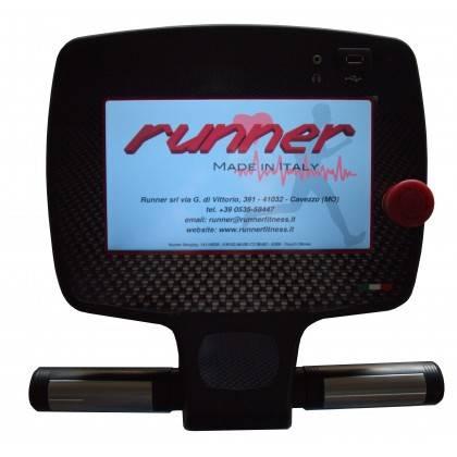 Bieżnia elektryczna Runner Run 7410 ELITE-PC polska konsola,producent: RUNNER FITNESS, photo: 6
