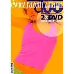 Ćwiczenia instruktażowe DVD DUO Aerobic + Pilates 2 płyty MayFly - 1 | klubfitness.pl