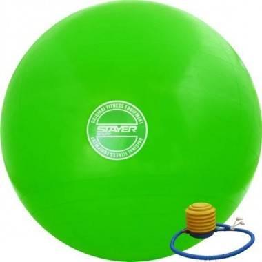Piłka gimnastyczna 65 cm STAYER SPORT z pompką,producent: STAYER SPORT, photo: 1