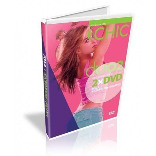 Ćwiczenia instruktażowe DVD DUO Joga + Kick & Burn Pilates MayFly - 1 | klubfitness.pl | sprzęt sportowy sport equipment