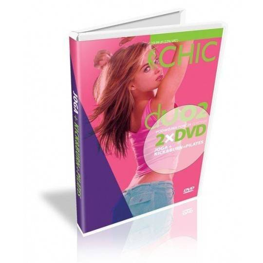 Ćwiczenia instruktażowe DVD DUO Joga + Kick & Burn Pilates,producent: MayFly, photo: 1
