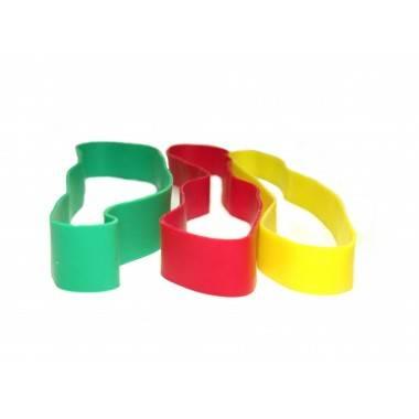 Guma treningowa do ćwiczeń mięśni rąk BODYLASTICS taśma pętla lateksowa różne poziomy,producent: BODYLASTICS, photo: 2