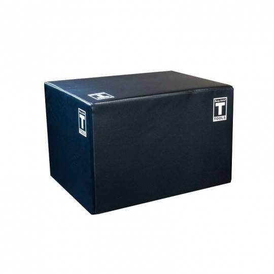 Skrzynia plyometryczna do ćwiczenia wyskoku PlyoBox Body-Solid z obiciem 51 x 61 x 76,2 cm Body-Solid - 1 | klubfitness.pl