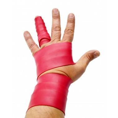 Guma usztywniająca dłonie FINGERBAND BODYLASTICS czerwona,producent: BODYLASTICS, photo: 3