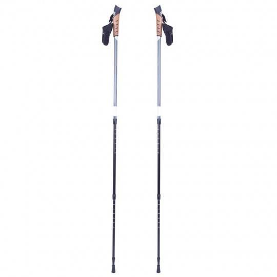 Kije aluminiowe Nordic Walking Vilarica INSPORTLINE 3 sekcyjne z pokrowcem,producent: INSPORTLINE, photo: 1
