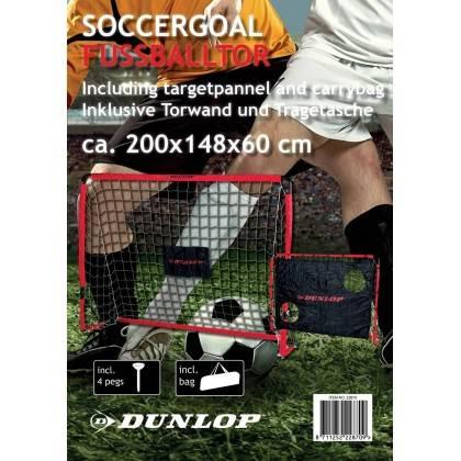 Bramka do gry 200 x148 x60 cm DUNLOP z matą treningową i pokrowcem Dunlop - 7 | klubfitness.pl