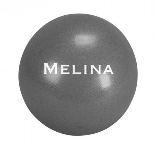 Piłka do ćwiczeń pilates 19 cm MELINA pompowana szara Trendy Yoga - 1 | klubfitness.pl