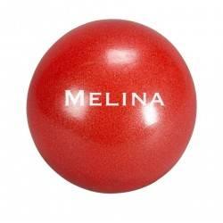 Piłka do ćwiczeń pilates 30 cm MELINA pompowana czerwona Trendy Yoga - 1 | klubfitness.pl
