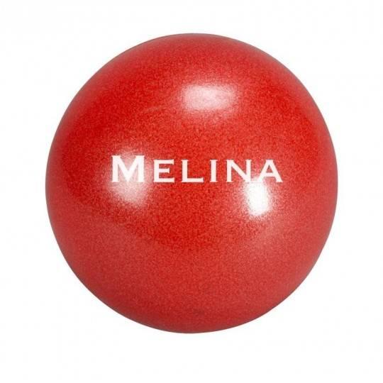 Piłka do ćwiczeń pilates 30 cm MELINA pompowana czerwona,producent: TRENDYYOGA, photo: 1